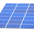 Solar Panel with white background — Stock Photo