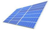Solar Panel with white background — Stock Photo