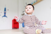 Cute Baby Look Up forward — Stock Photo