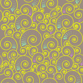 Seamless spiral pattern — Stock Vector