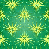 Illusion d'optique rétro modèle sans couture — Vecteur