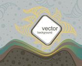 Vector doodle fondo — Vector de stock