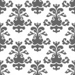 Royalty-Free Stock Vector Image: Seamless grey floral background