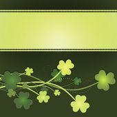 St Patrick's Day card — Vetorial Stock