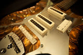 Funky art guitar — Stock Photo