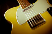 Guitar Body and String — Stock Photo