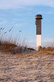 Sullvan's Island Lighthouse at Sunset — Stock Photo