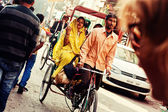 Indian traffic — Stock Photo
