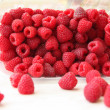Stock Photo: Juicy raspberry