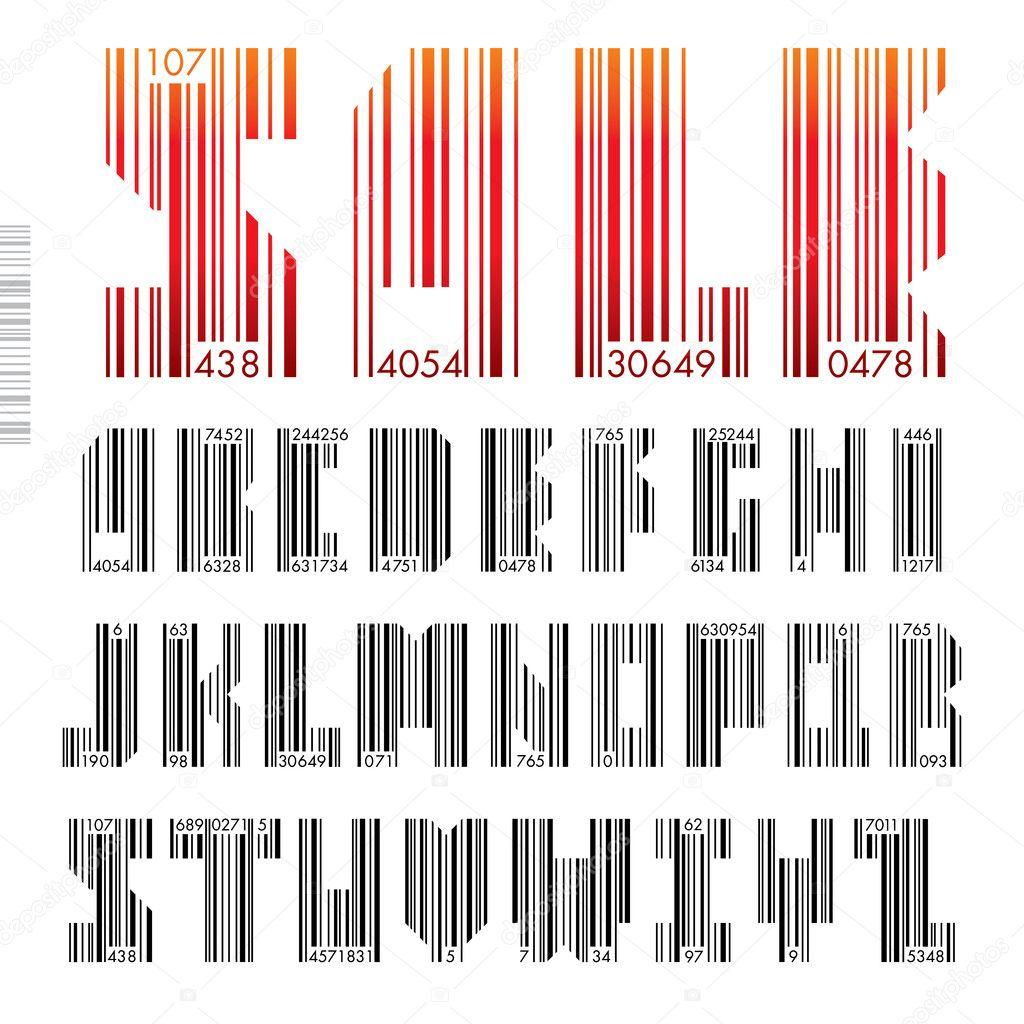 Google barcode fonts - 61ed