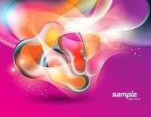 Abstract colorful vector background — Stock Vector