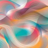 Abstracte achtergrond met glanzende vormen transformeren. vector illu — Stockvector
