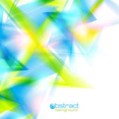Abstract background with triangles. Vector illustration. — ストックベクタ