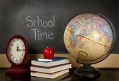 School time chalk board — Stock Photo