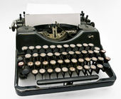 TYPE-WRITER FOR PRINTING — Stock Photo
