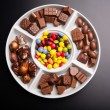 Royalty-Free Stock Photo: Colorful chocolate sweets