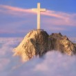 Cross on top of a mountain — Stock Photo #10139184