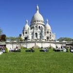 La Basilique du Sacré Coeur de Montmartre — Stock Photo #10406969