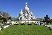 La Basilique du Sacré Coeur de Montmartre — Stock Photo