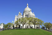 La Basilique du Sacré Coeur de Montmartre — Stock Photo