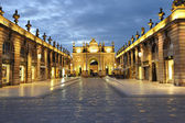 Nancy Place Stanislas France — Stock Photo