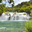 Croatie Parc national de Krka cascade - Stock Photo