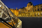 Musée du Louvre Paris — Stock Photo