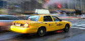 Taxi new york — Stockfoto