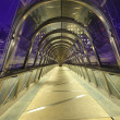 Paris la défense tunnel - Stock Photo