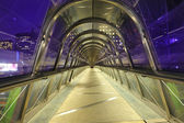 Paris la défense tunnel — Stock Photo