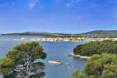 Croatia island Krapanj — Stock Photo
