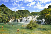 Krka National Park Croatia waterfall — Stock Photo