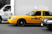 New York Taxis — Stockfoto