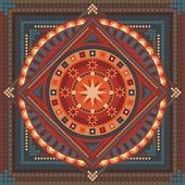 Soyut mandala — Stok Vektör