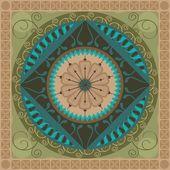 Floral Mandala — Stock Vector