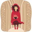 Red Riding Hood — Stock Vector #9466969