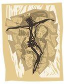 イエスの十字架 — ストックベクタ