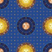 Celestial Pattern — Stock Vector