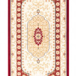 Carpet frame art retro vintage persian design - Stock Photo
