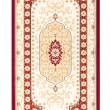 Carpet frame art retro vintage persian design — Stock Photo