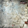 Peeled stucco brick — Stock Photo