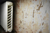 Vintage heating system — Stock Photo