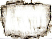 黑色墨水污迹框架设计; — 图库照片