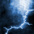 Thunderstorm lightning - Stock Photo
