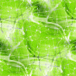 Royalty-Free Stock Photo: Seamless Green texture of lines and spider like nets
