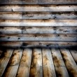 Siding weathered — Stock Photo