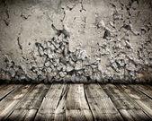 Close up of chipped brick wall — Stock Photo