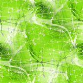 Sömlös gröna konsistens av linjer och spindel som nät — Stockfoto