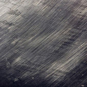 Close up of scratches on steel surface — Stock Photo