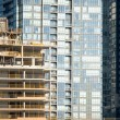 Stock Photo: Modern glass high-rise and